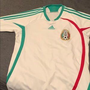Adidas 2007 Mexico jersey